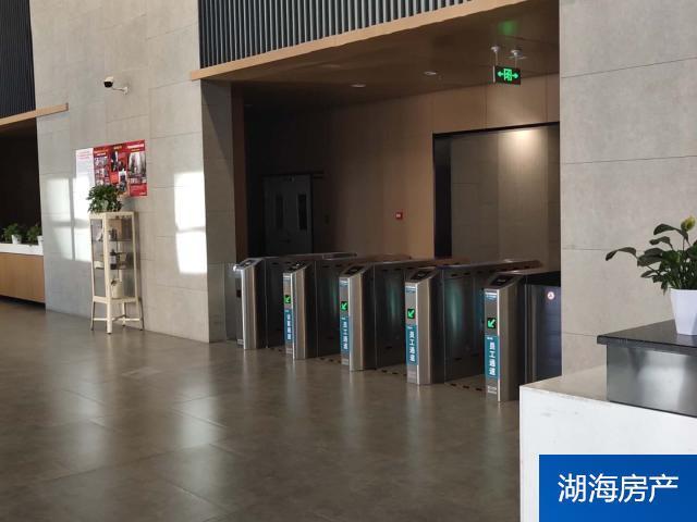 【興慶區寫字樓】鳳凰北街民生中心+精裝110平有隔斷 +北向-采光好+隨時看